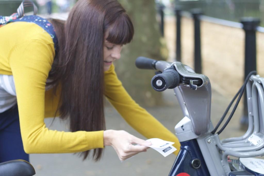 entering bike code