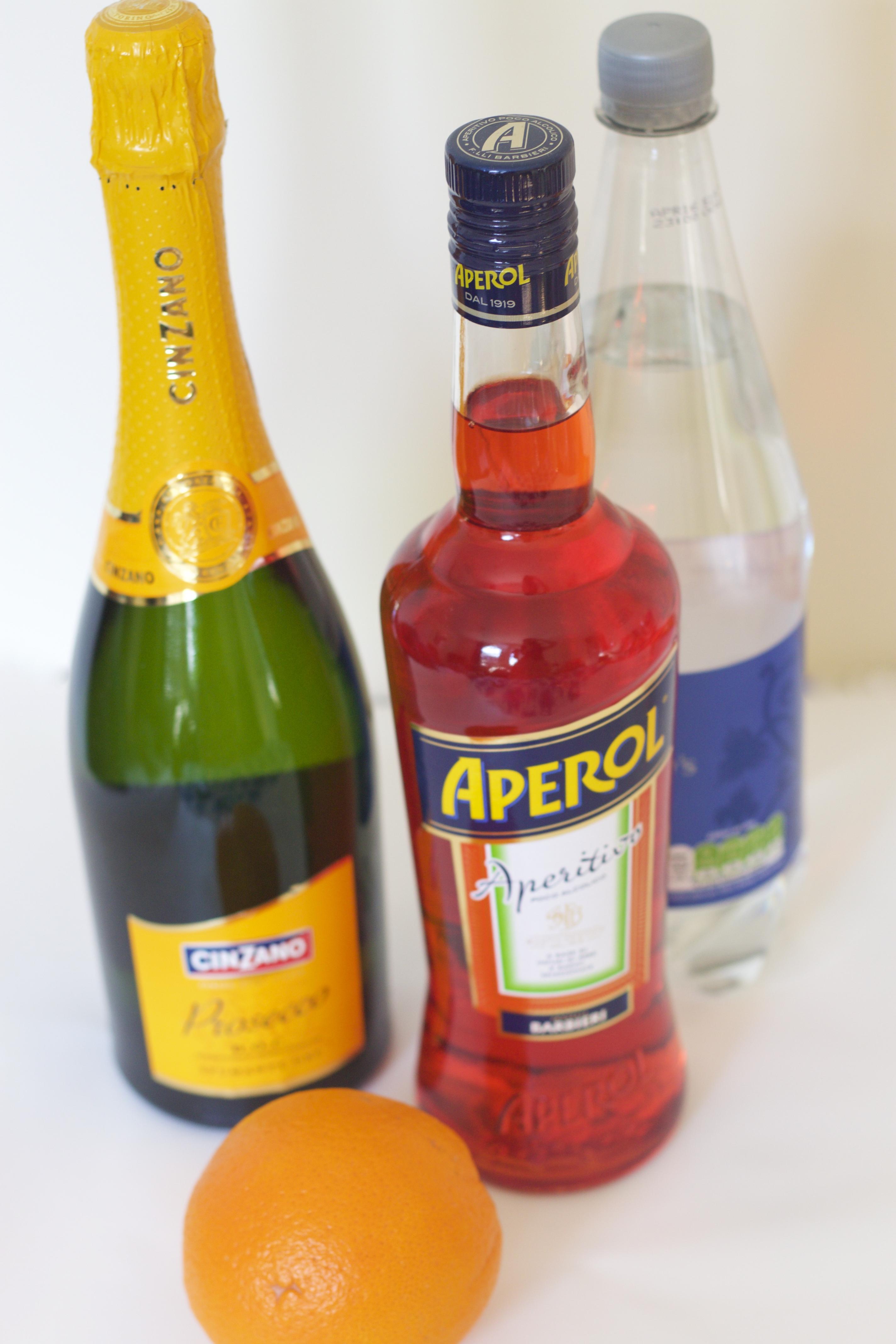 Bottle Of Aperol