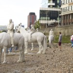 London || Visiting the Thames Horses