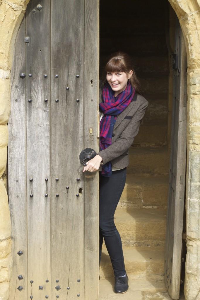 battle abbey door