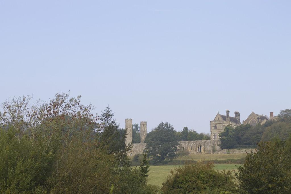 battle abbey from afar