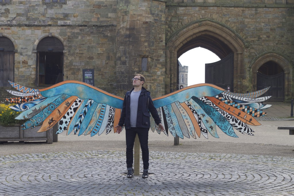 sam with wings