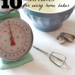 10 Must Have Gadgets for Every Home Baker