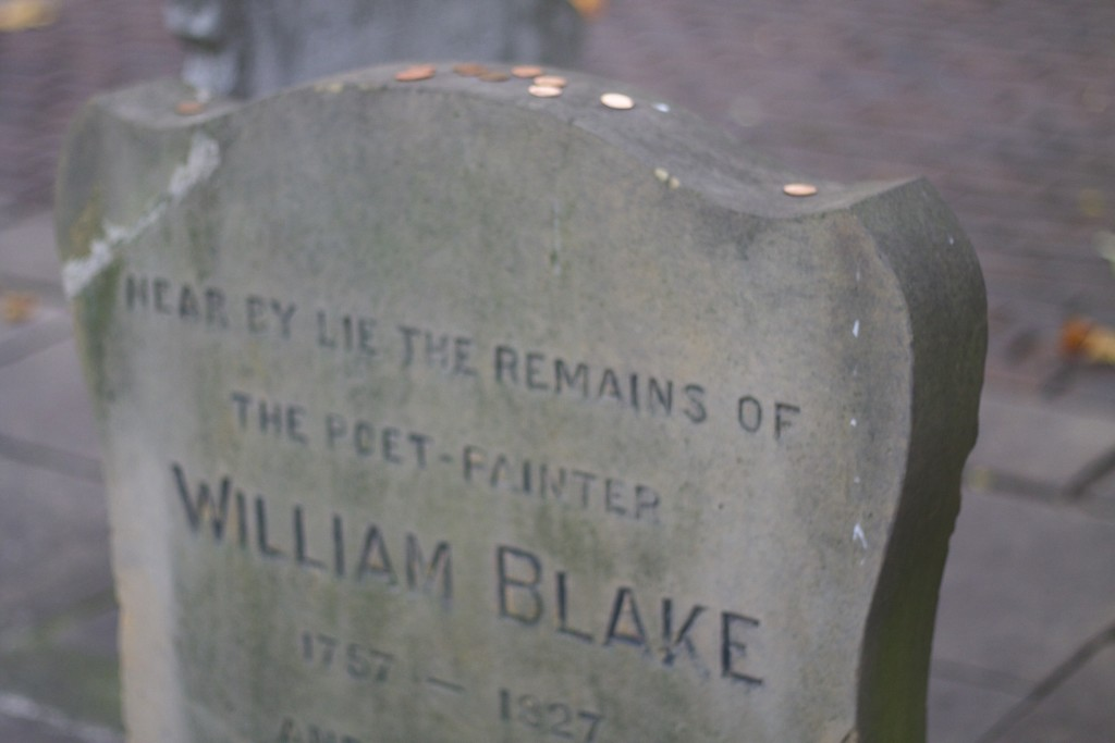 pennies on blake grave