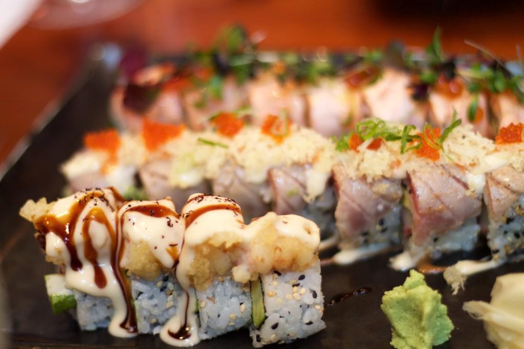 sushi at sushino en