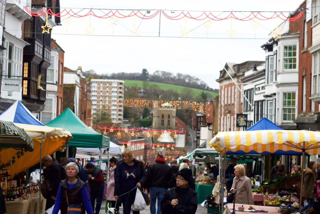 christmas market guildford