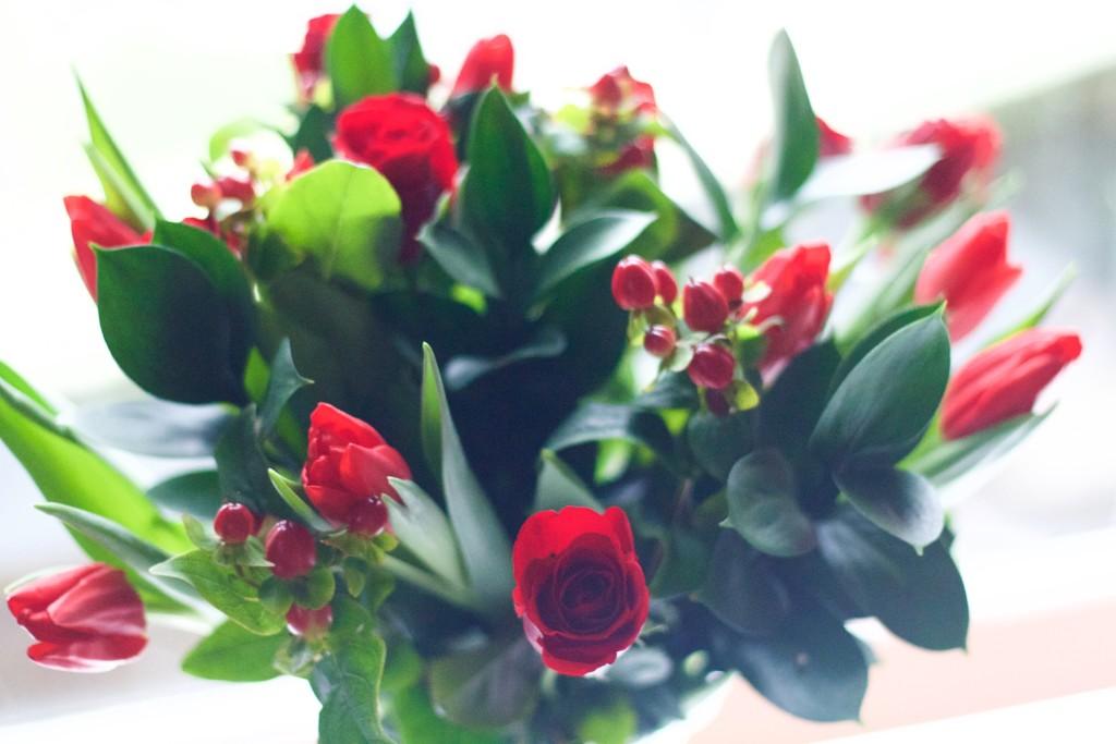 debenhams christmas flowers