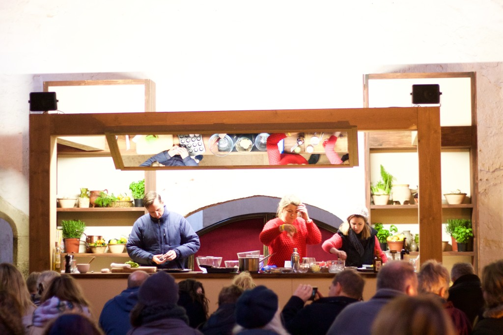 food demonstrations