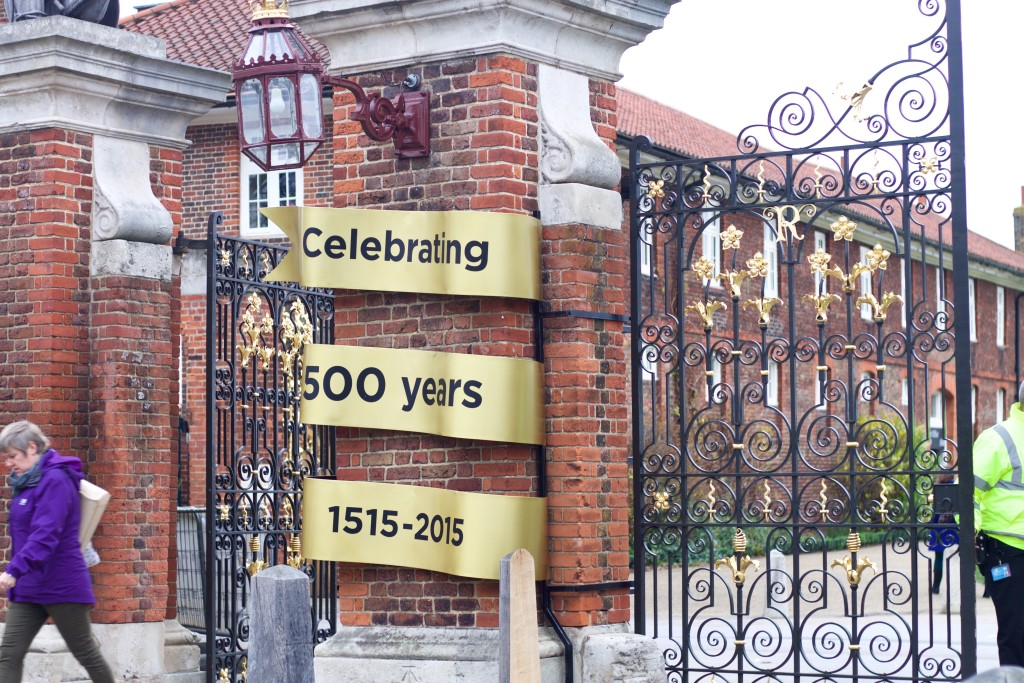 gates of hampton court