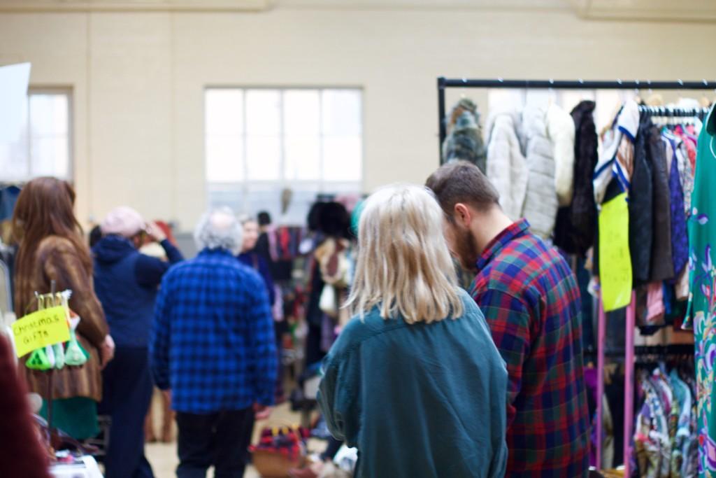 inside the vintage fair