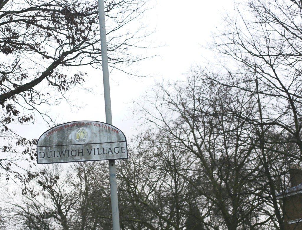 dulwich village sign