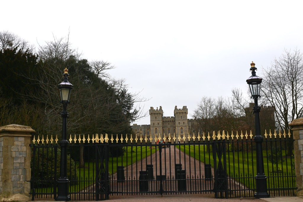 windsor palace gates