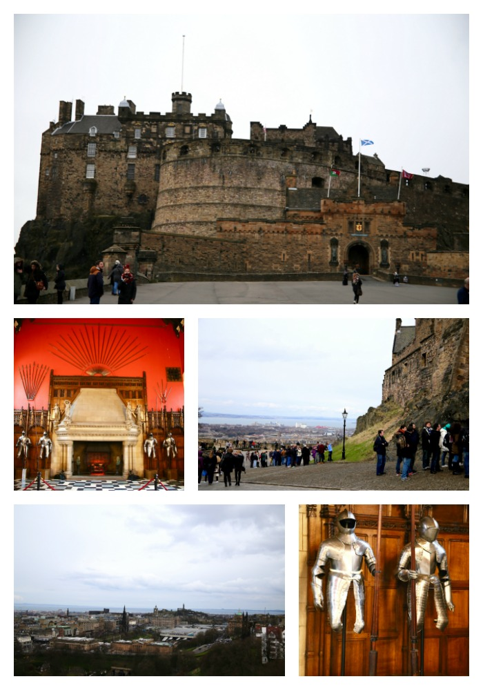 Edinburgh castle pin it for later