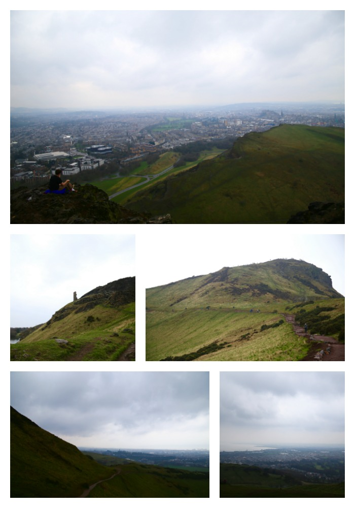 arthurs seat pin for later