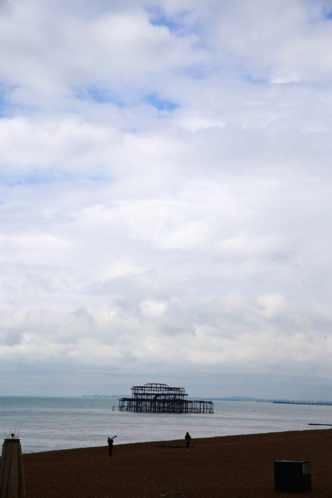 burned down pier