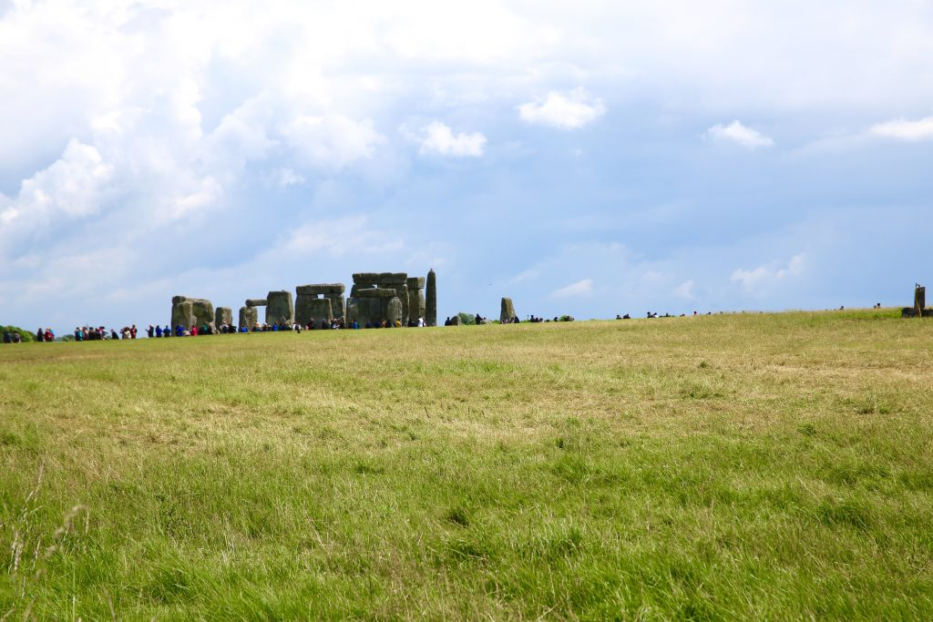 countryside and stonehenge