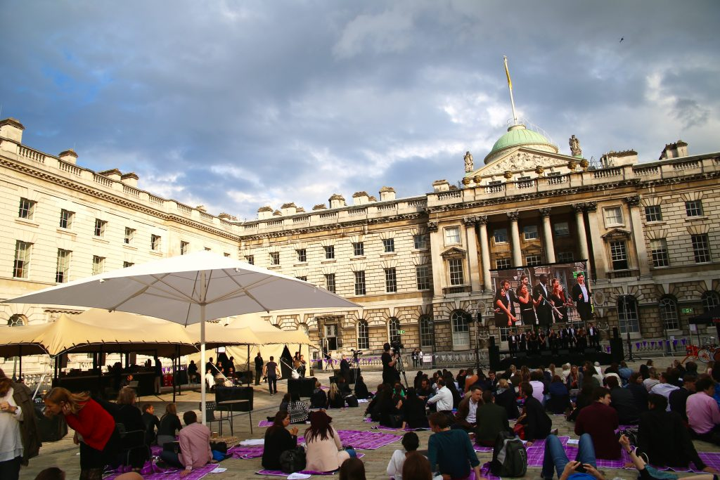 picnic with mercure somerset house