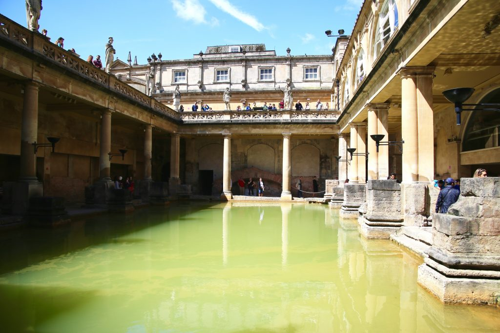 roman baths ground level