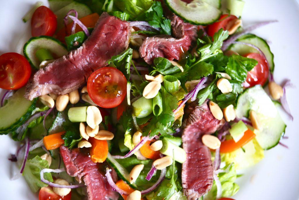 thai beef salad details