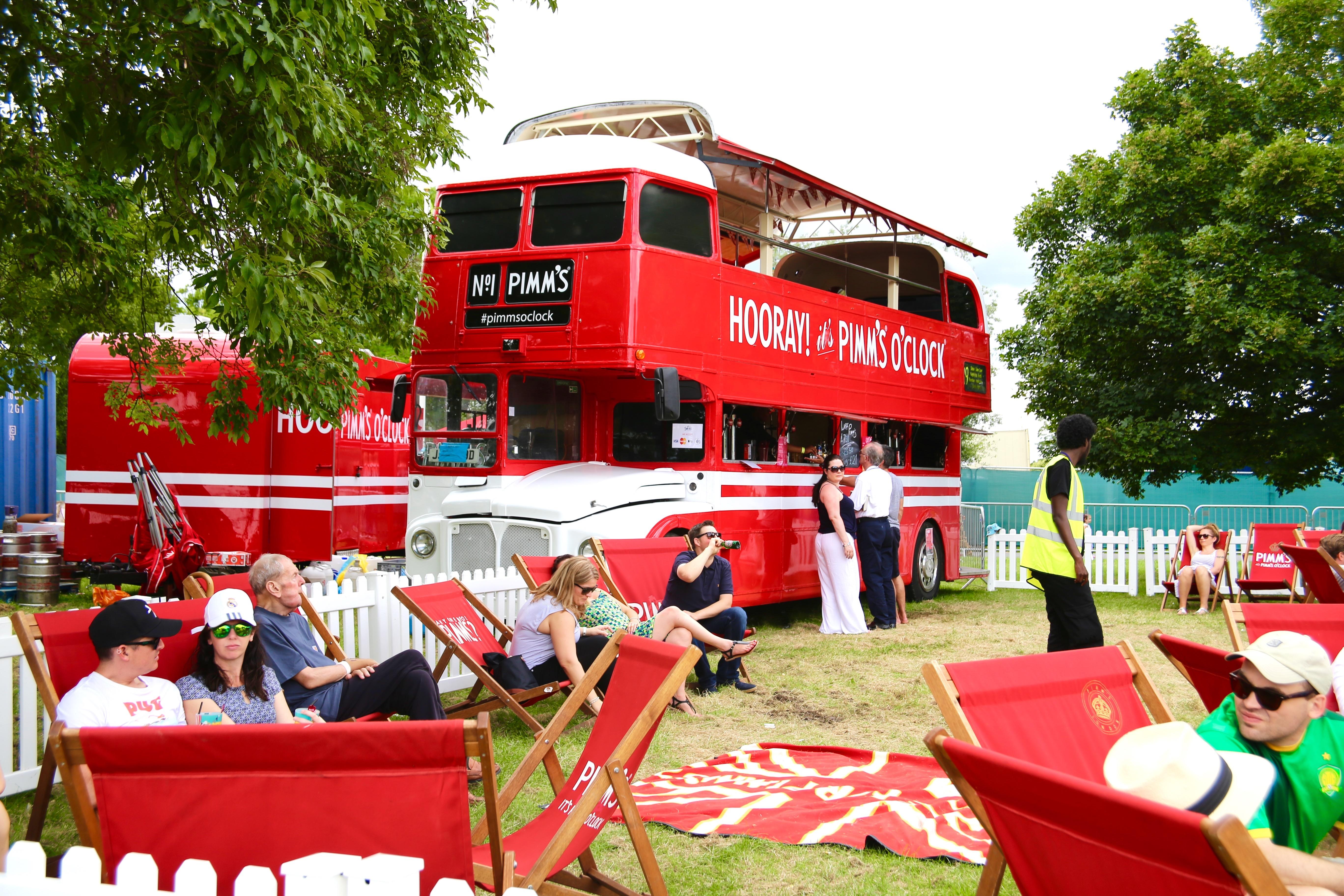 pimms bus & London    Lambeth Country Show - Rhyme u0026 Ribbons