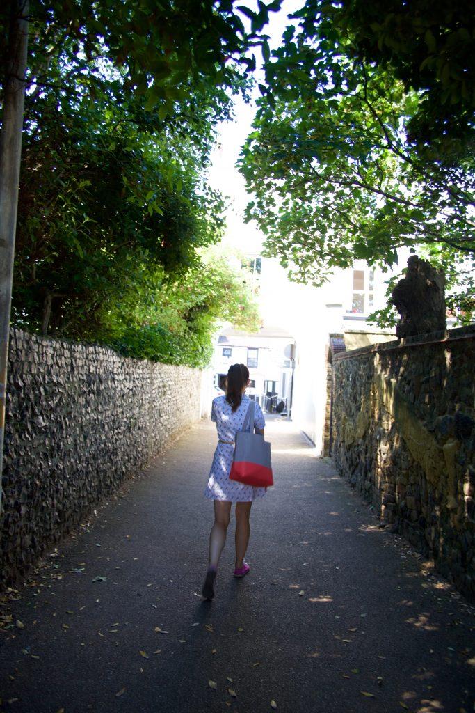 amanda in road
