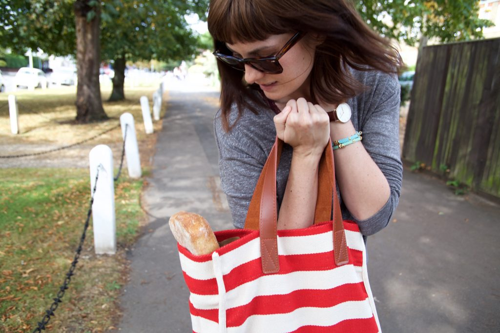 bag with bread