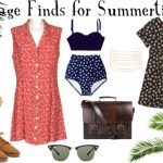Fashion || Vintage Summer Wishlist