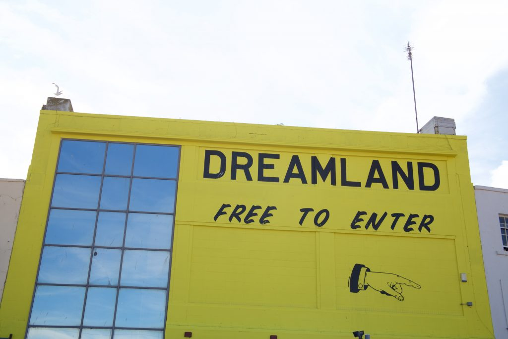 dreamland entrance