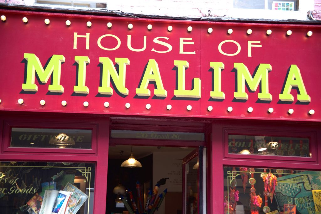 house of minalima sign