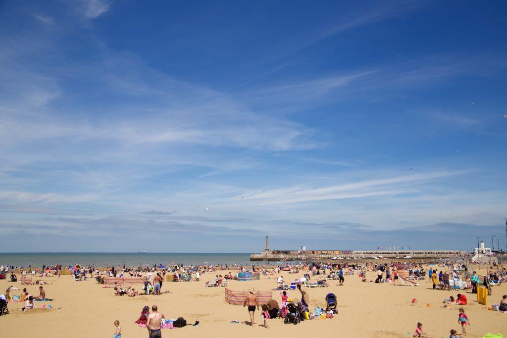 seaside beach daytime