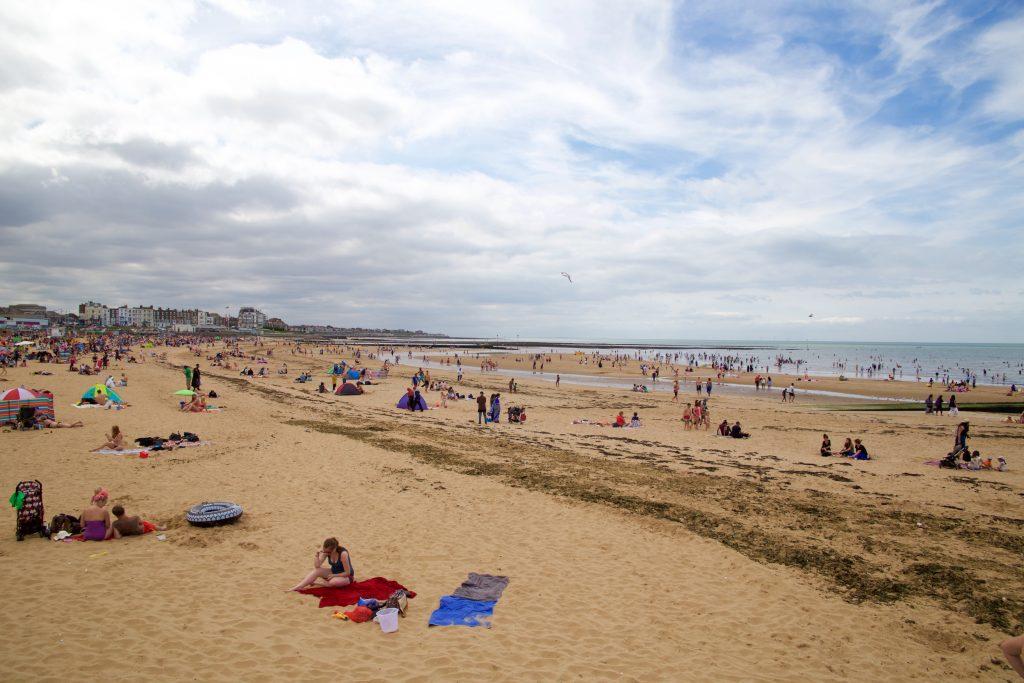 seaside margate beach