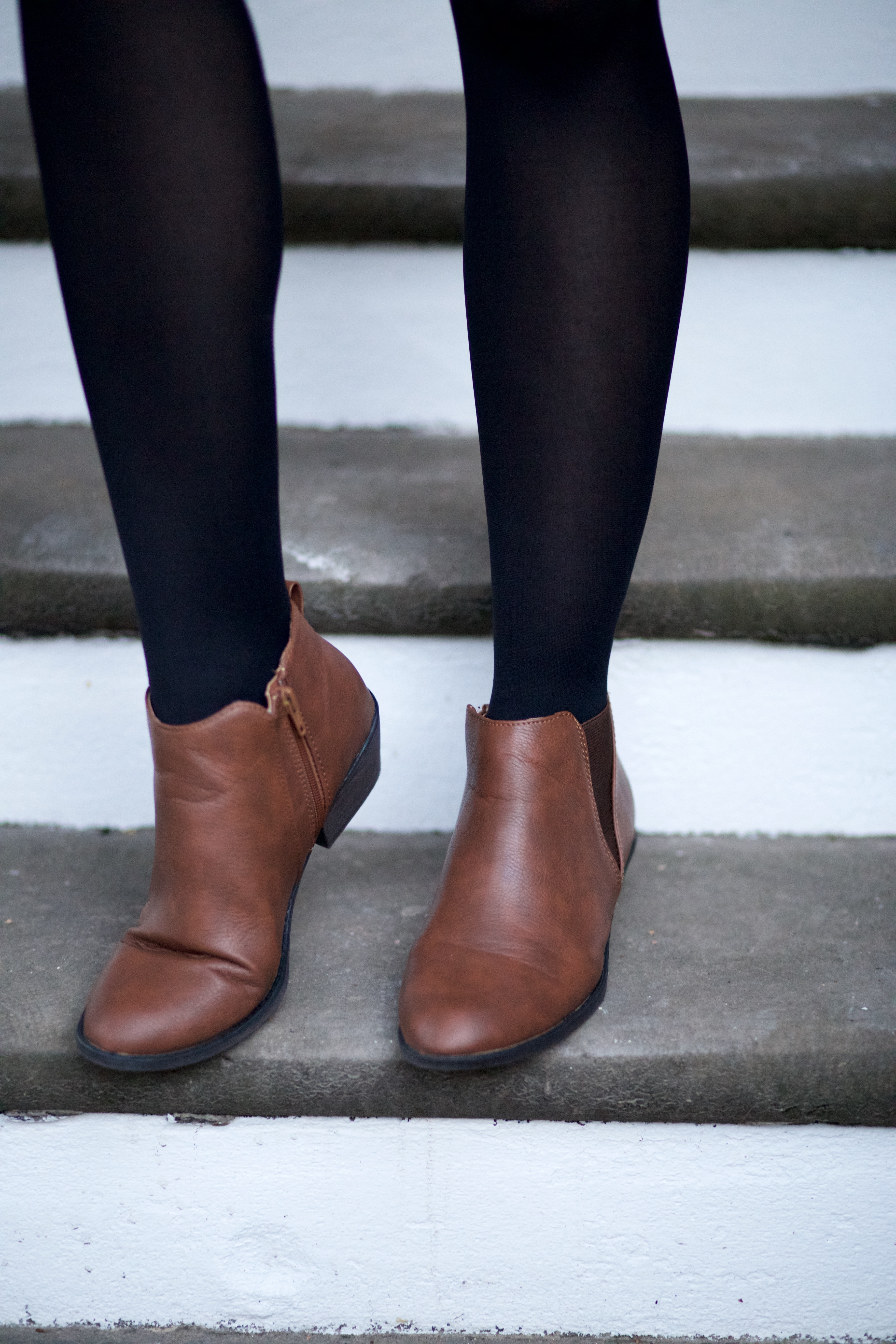 Style || How to Wear Ankle Boots Two Ways