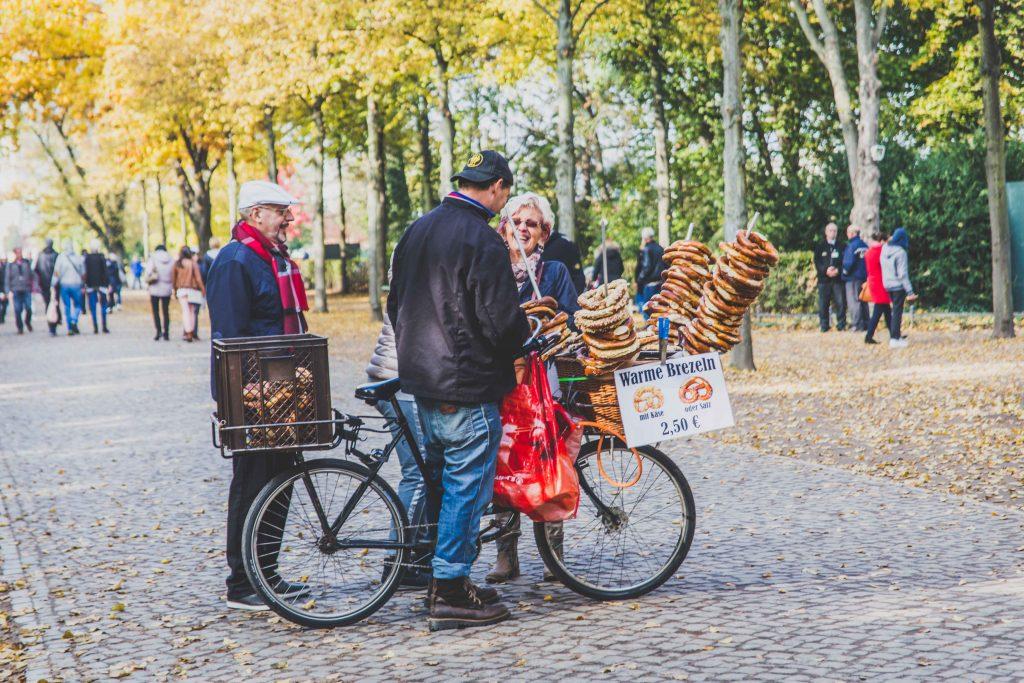 pretzel-seller