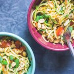 Recipes || Spicy Thai Zoodles (Vegetable Noodles)