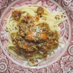 Recipes || Lentil and Mushroom Bolognese