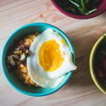 Recipe || Sweet Potato Polenta with Caramelised Onions and Fried Egg