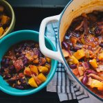 Recipes || Butternut Squash and Kidney Bean Stew