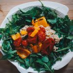 Recipes || Bulgar Wheat and Roasted Tomato Salad