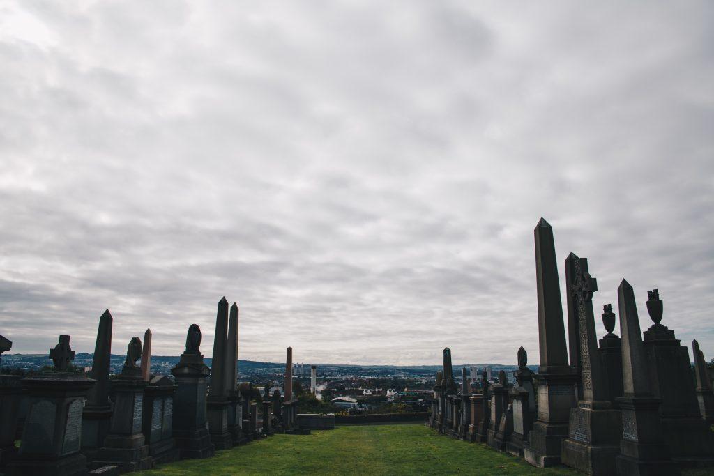 Glasgow Necropolis graves