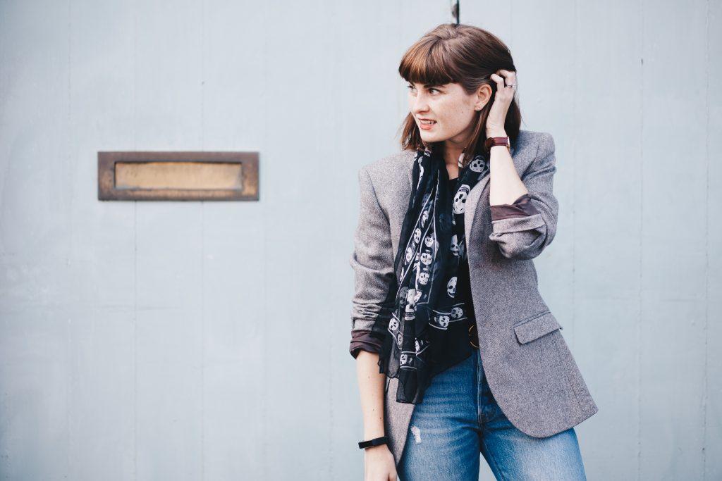 Rokit blazer and scarf-2