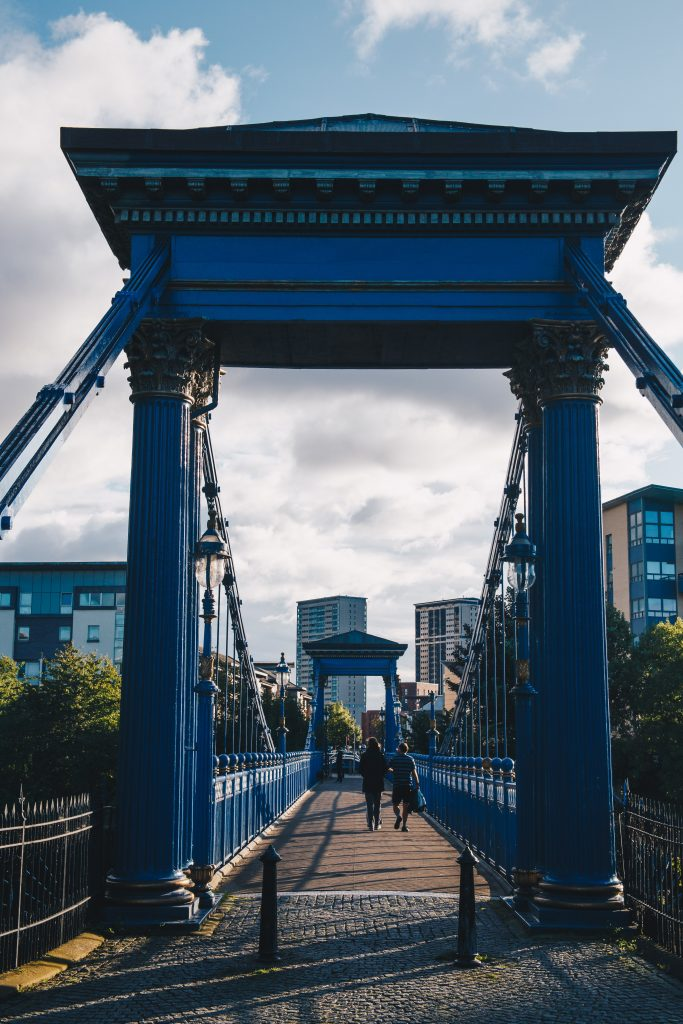 bridge over river clyde