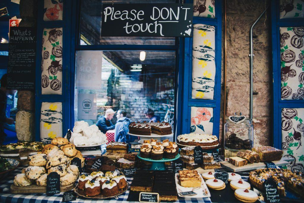desserts at singl-end cafe