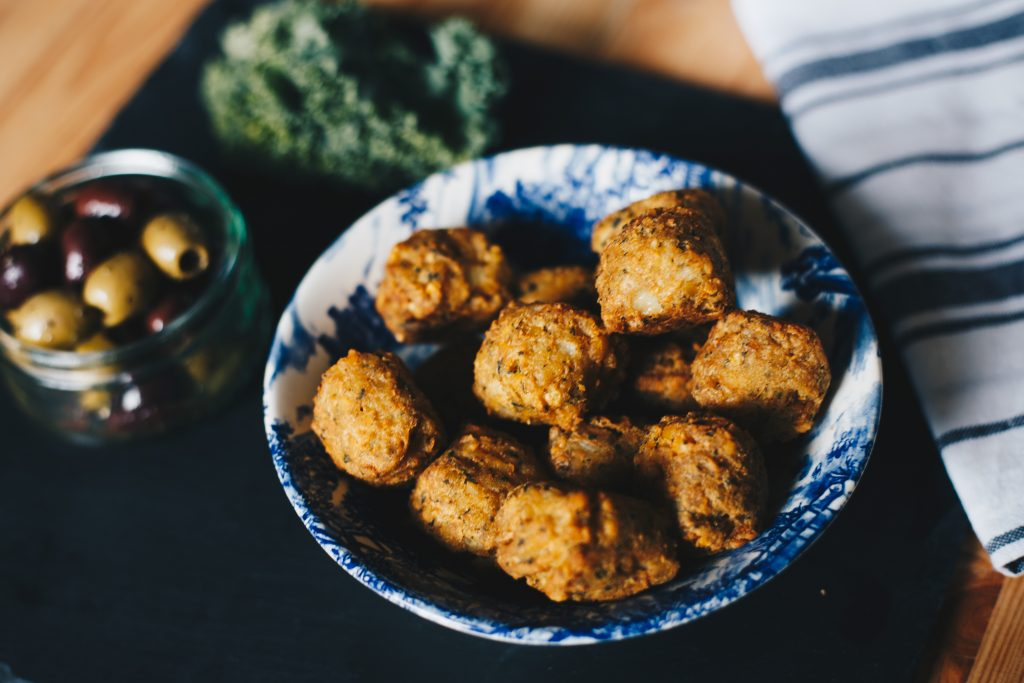 falafel mezze