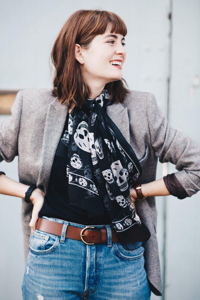 menswear inspired vintage look