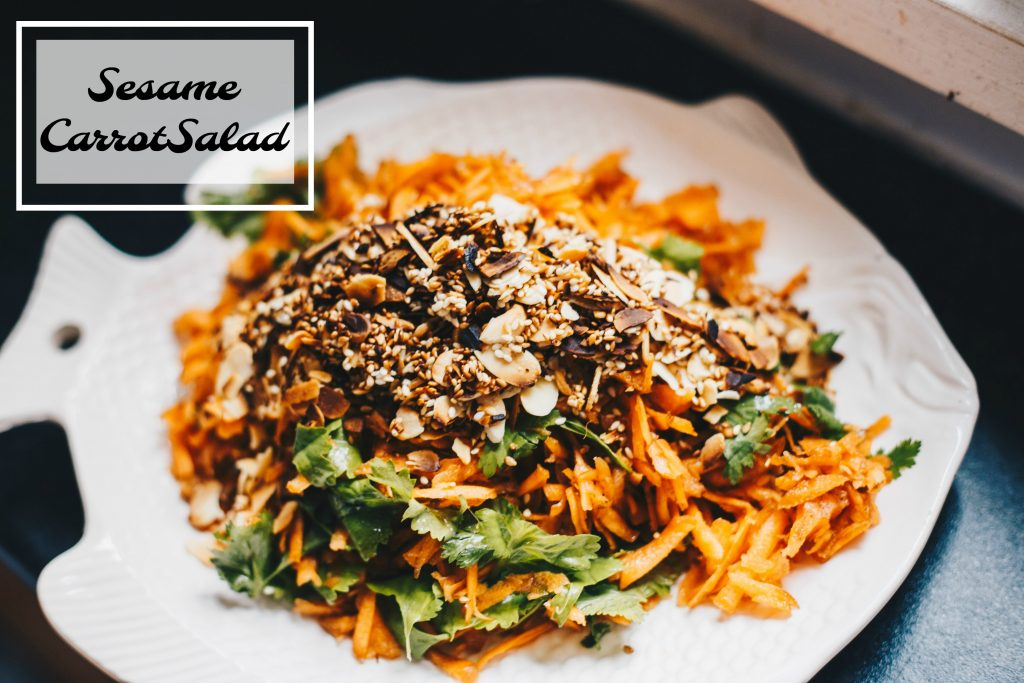 sesame carrot salad