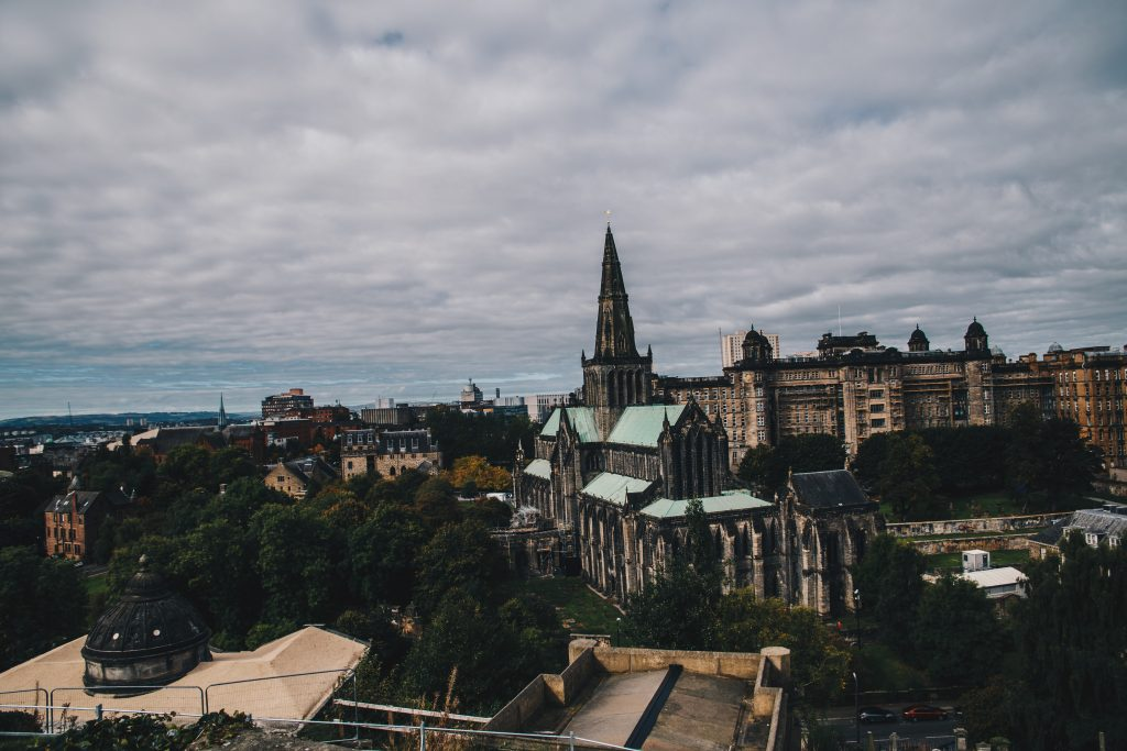 view of glasgow cathedral