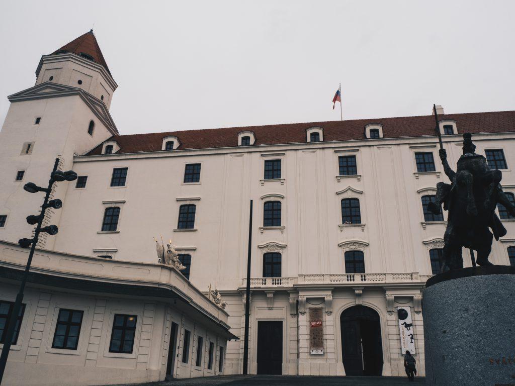 Bratislava Castle close up
