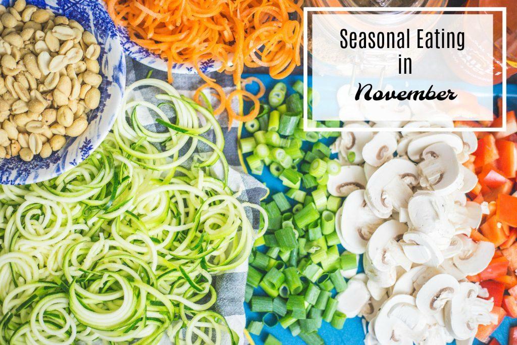 Seasonal Eating in November