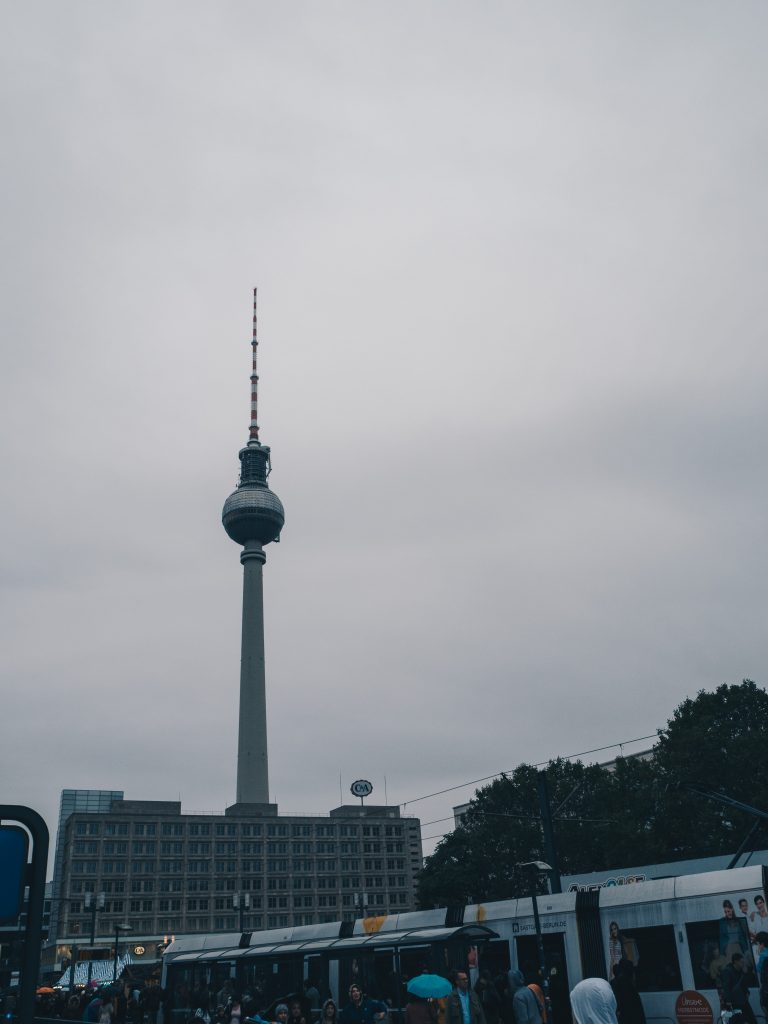 TV tower in the day