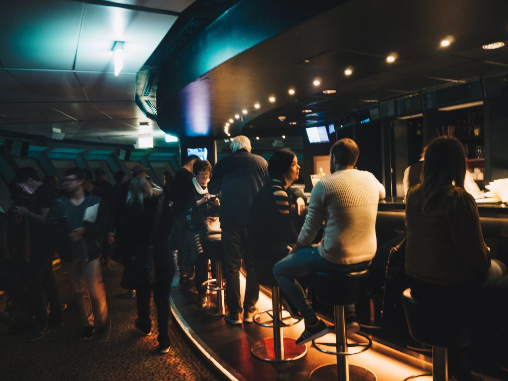 bar in tv tower